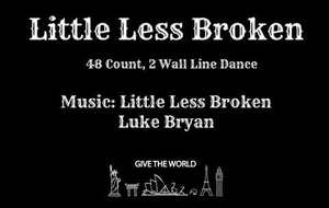 En visio : LITTLE LESS BROKEN du 06/12/2020